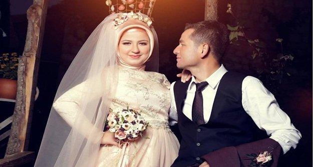 Yeni evlenen Vesile trafik kurbanı oldu