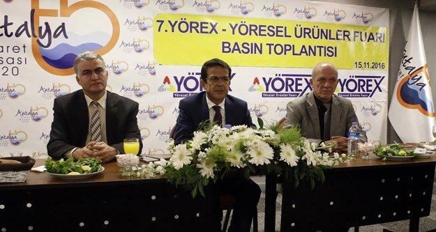 YÖREX'e 155 bin ziyaretçi