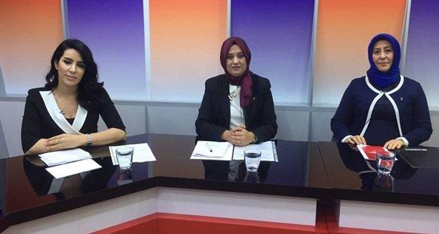 AK Partili kadınların hedefi
