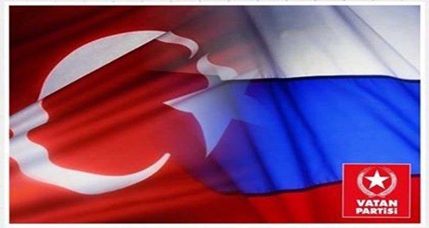 'Türk-Rus Dostluğuna ABD Kurşunu'