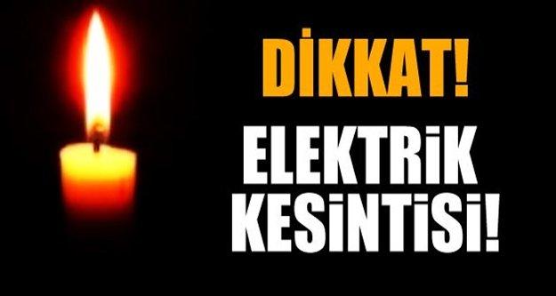Alanya'da elektrik kesintisine dikkat