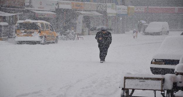 Antalya'da taşımalı eğitime kar tatili