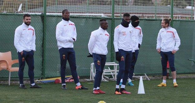 Antalyaspor maçı hazırlıklarını tamamladık