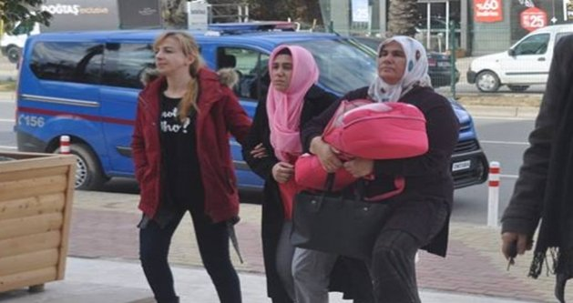 FETÖ'den dolayı bebeğiyle gözaltına alınan kadın serbest