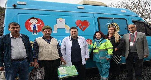Mobil sağlık aracı hizmete girdi