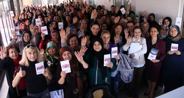 AK Parti'li kadınlar startı verdi