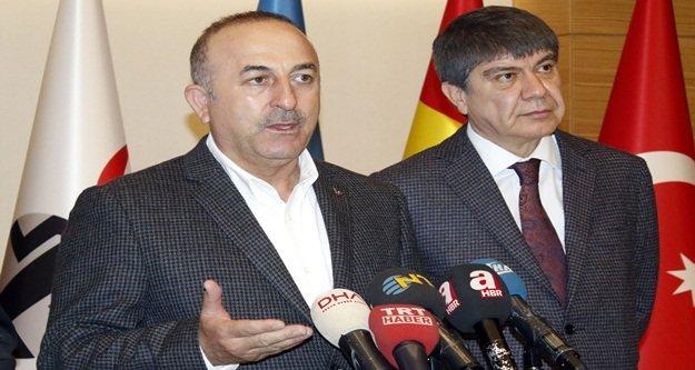 Çavuşoğlu'ndan kritik Suriye açıklaması