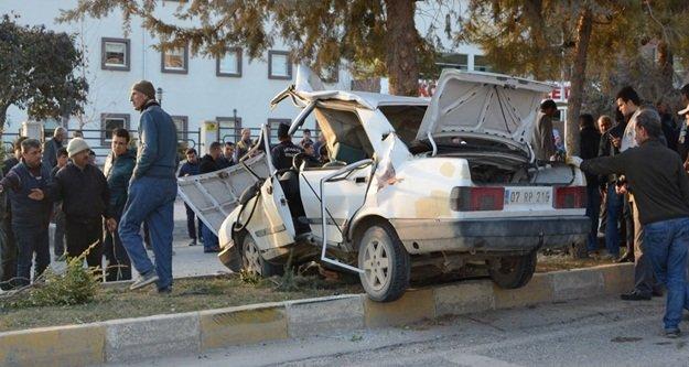 Feci kazada 1 Ölü 2 ağır yaralı var