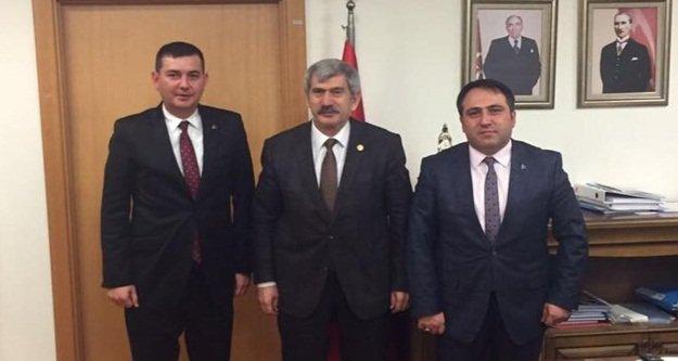 Türkdoğan'dan Çetin'e ziyaret