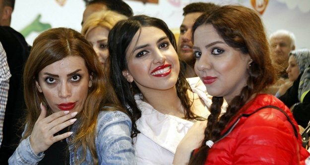 İranlılar Antalya'ya...