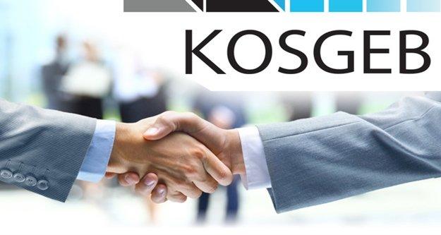 24 bin 801 işletmeye KOSGEB desteği