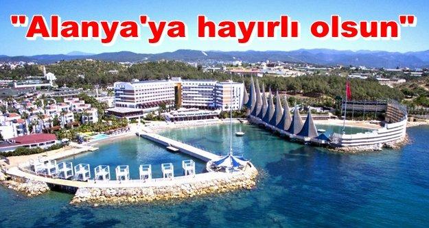 Adin Beach Hotel'de yelkenler fora