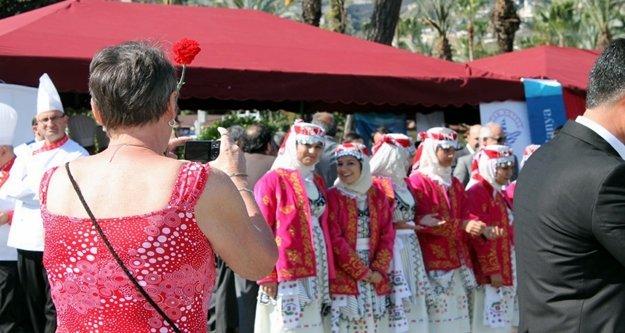 Alanya'da turizm haftası heyecanı