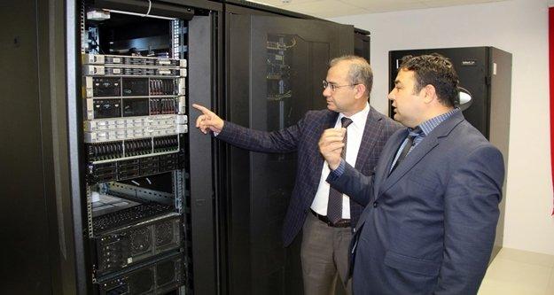 Alanya'nın en büyük veri merkezi ALKÜ'de kuruldu