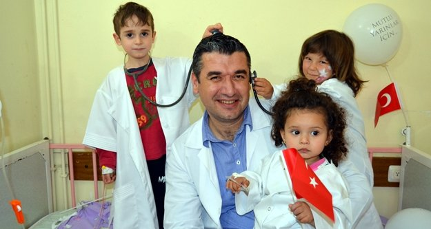 Alanya'nın minik doktorları