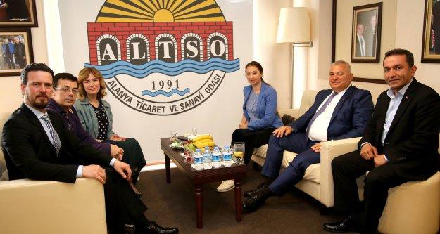 ALTSO'dan 50 milyon kişiye Alanya tanıtımı