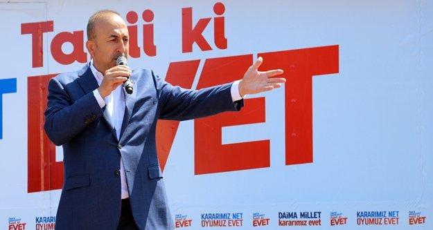 Çavuşoğlu'ndan domates salatalık açıklaması
