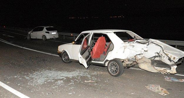 İki araç çarpıştı! 2 Rus 3 Türk yaralandı