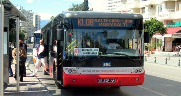 Toplu taşıma araçlarına indirim tartışması
