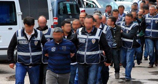 Antalya genelinde FETÖ'den kaç kişi tutuklandı?