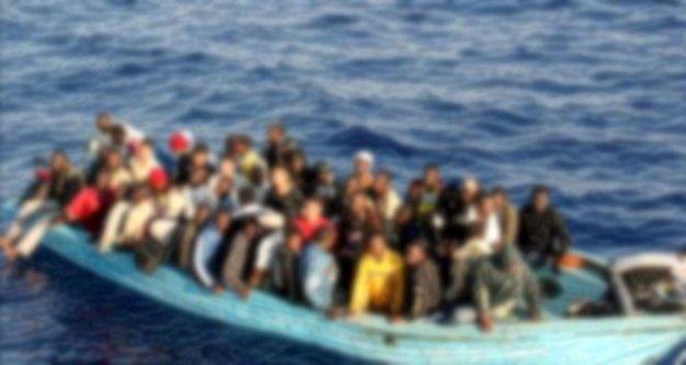 64 Suriyeli'yi Kıbrıs'a götürmeye çalıştılar