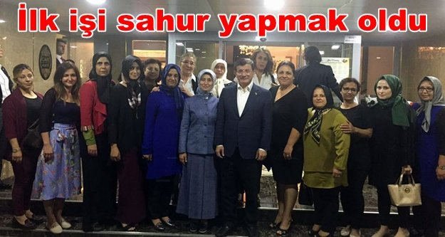 Ahmet Davutoğlu Alanya'da