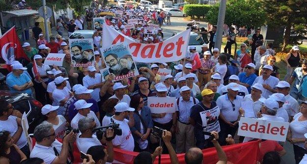 Alanya 'Adalet Yürüyüşü'ne başladı