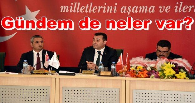 Alanya Belediye Meclisi toplanıyor