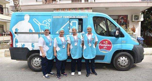 Alanya Belediyesi'nden ev temizliği hizmeti