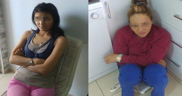 Alanya'da fuhuş baskını: Kırgız ve Rus kadınları...
