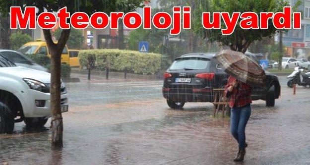 Alanya Dikkat! Yağışlar geliyor