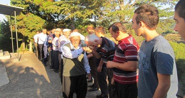 Alanya'nın köylerinde bayram geleneği