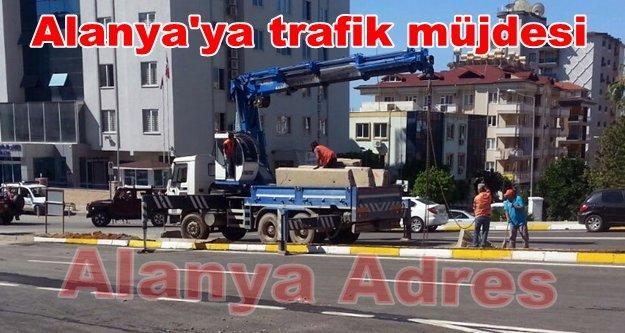 Alanya'nın yeni kavşakları trafiğe açıldı