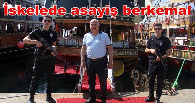 Alanya polisi gezi teknelerine nefes aldırmıyor
