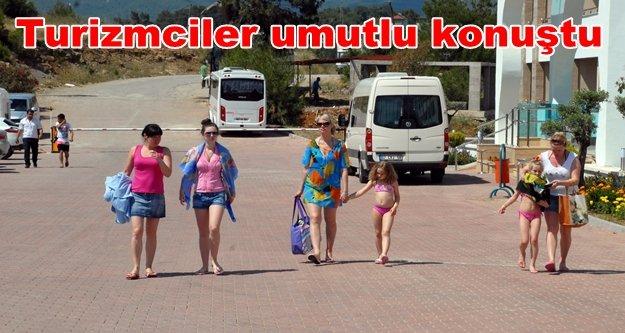 'Antalya ve Alanya'ya turist akını'