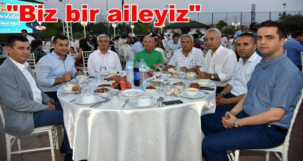 Başkan Yücel, personeli ile iftar yemeğinde buluştu