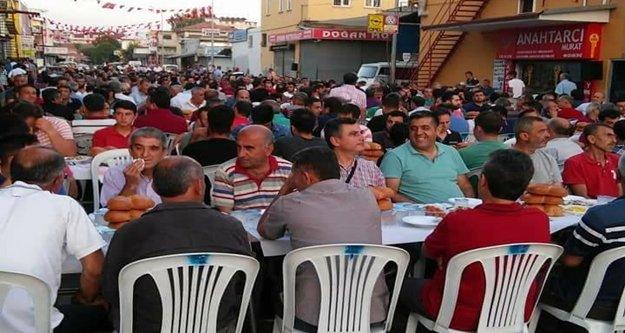 Metal İşleri'nden Bin 500 kişilik iftar