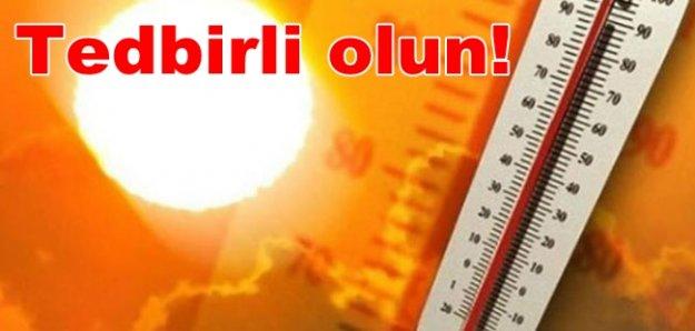 Meteoroloji'den 42 derece uyarısı