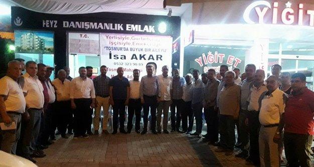 MHP'den Akar'a destek ziyareti