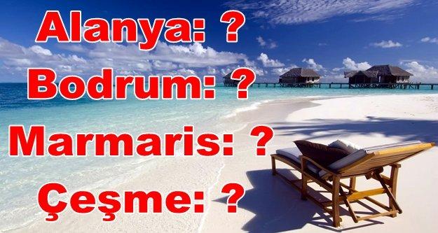Türk halkı hangi tatil kentini tercih ediyor?