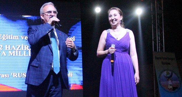 Vali Alanya'dan seslendi: Yaşasın Türk-Rus dostluğu