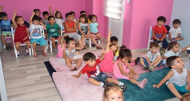Alanya Belediyesi'nden miniklere hijyen eğitimi