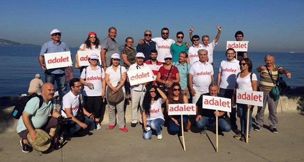 Alanya'dan Kılıçdaroğlu'na yürüyüş desteği