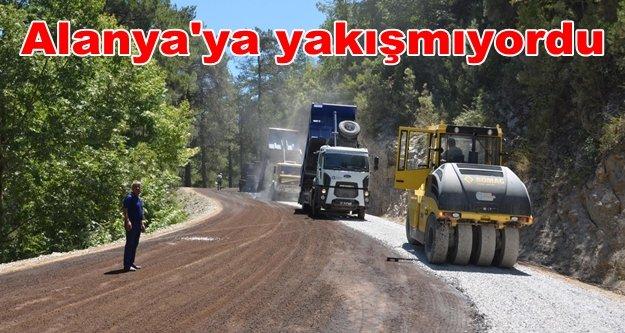 Büyükşehir'den o mahalleye asfalt jesti