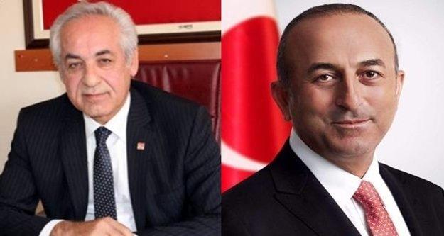 CHP'li Takavut'tan Çavuşoğlu'na teşekkür