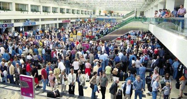 Havalimanı rekor kırdı