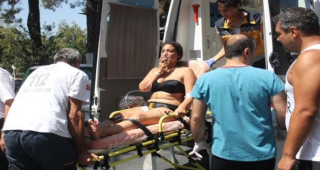 Klorlu havuz anne kızı hastanelik etti