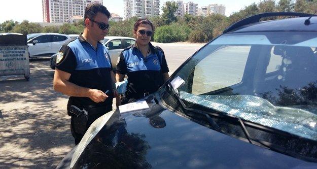 Polisten önce korkutan sonra şaşırtan ceza