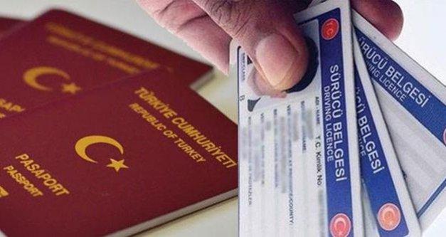 Polisten pasaport ve sürücü belgesi uyarısı