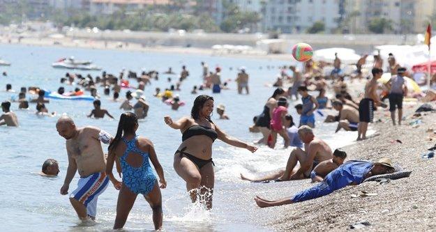 Son 10 yılın sıcaklık rekoru kırıldı